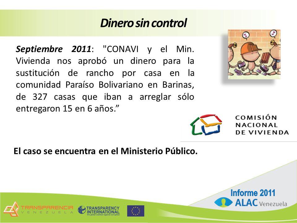 Septiembre 2011: CONAVI y el Min.