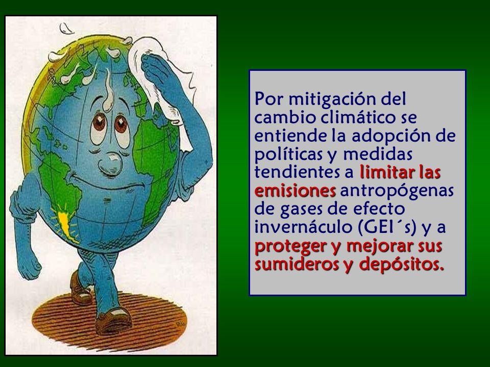 costos globales Este margen de diferencia es el que ofrece a la comunidad internacional la oportunidad de reducir los costos globales de mitigación.