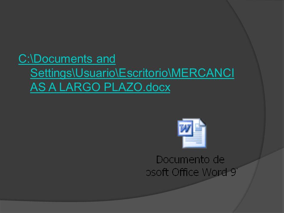 C:\Documents and Settings\Usuario\Escritorio\MERCANCI AS A LARGO PLAZO.docx