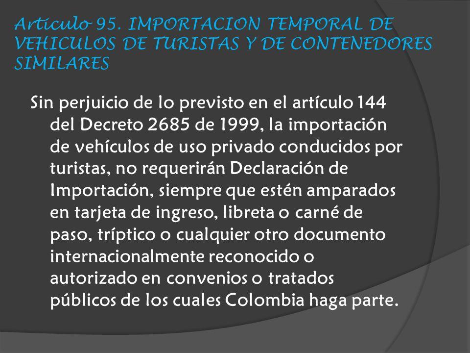 Articulo 95.