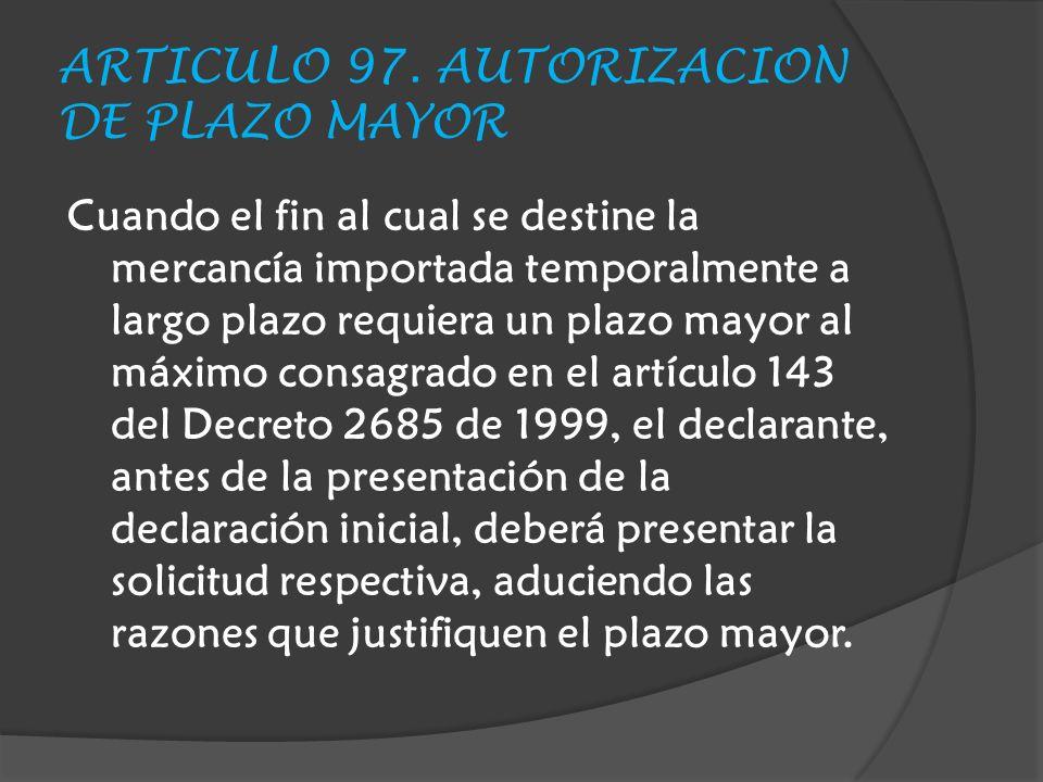 ARTICULO 97.