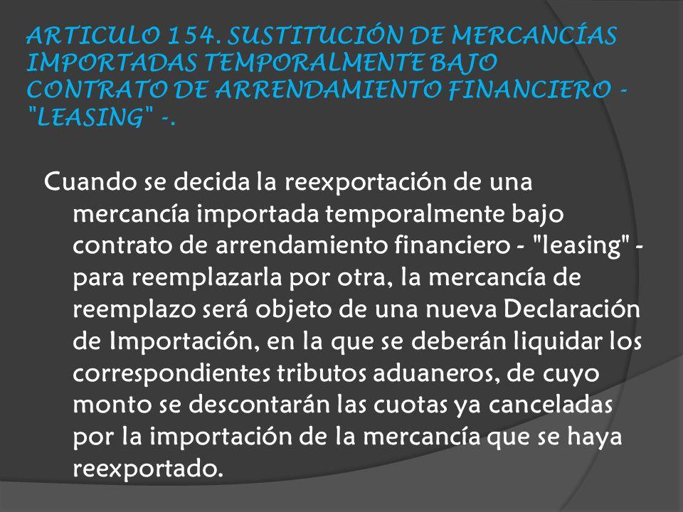 ARTICULO 154.