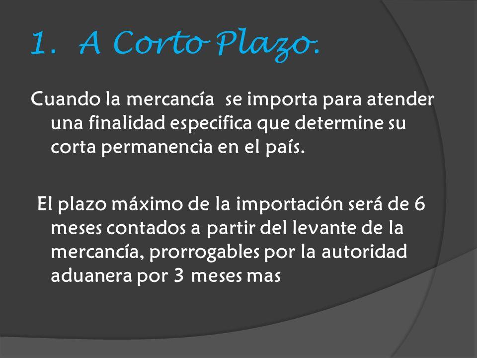 1.A Corto Plazo.