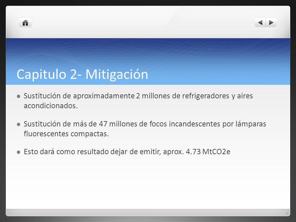 Capítulo 3- Adaptación Etapas: 1- Evaluación 2008-2012 2- Fortalecimiento de capacidades 2013-2030 3- Consolidación de las capacidades 2030-2050