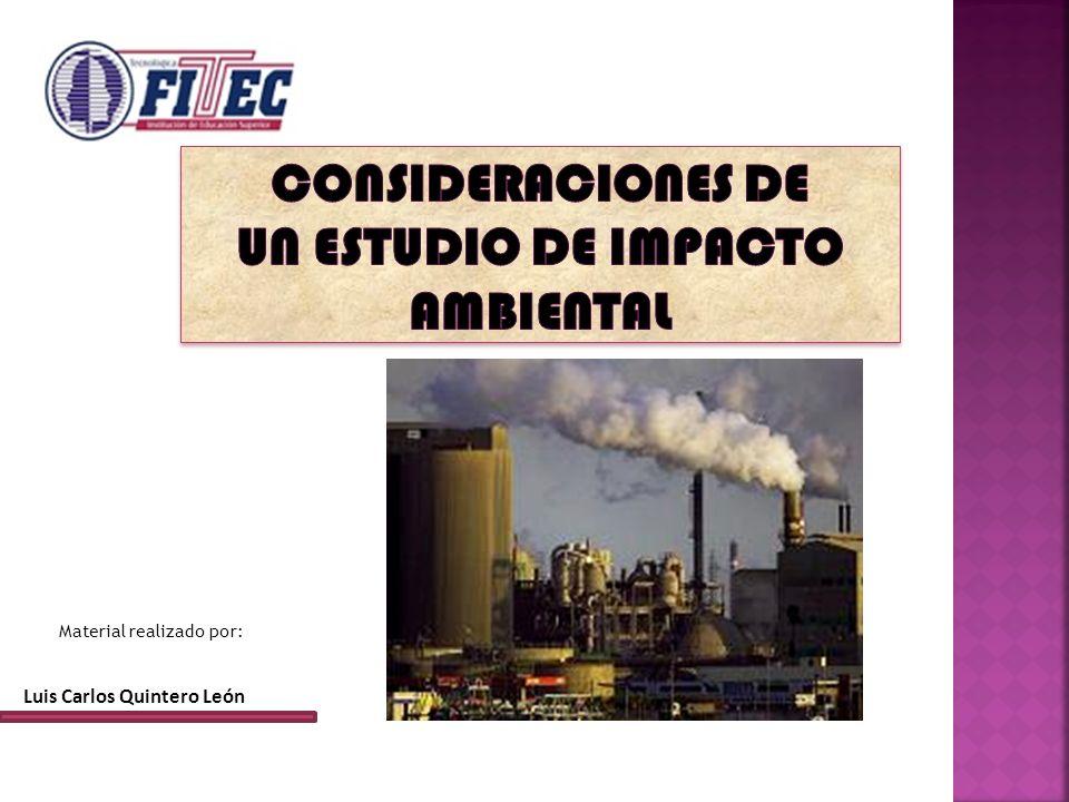 Luis Carlos Quintero León Material realizado por: