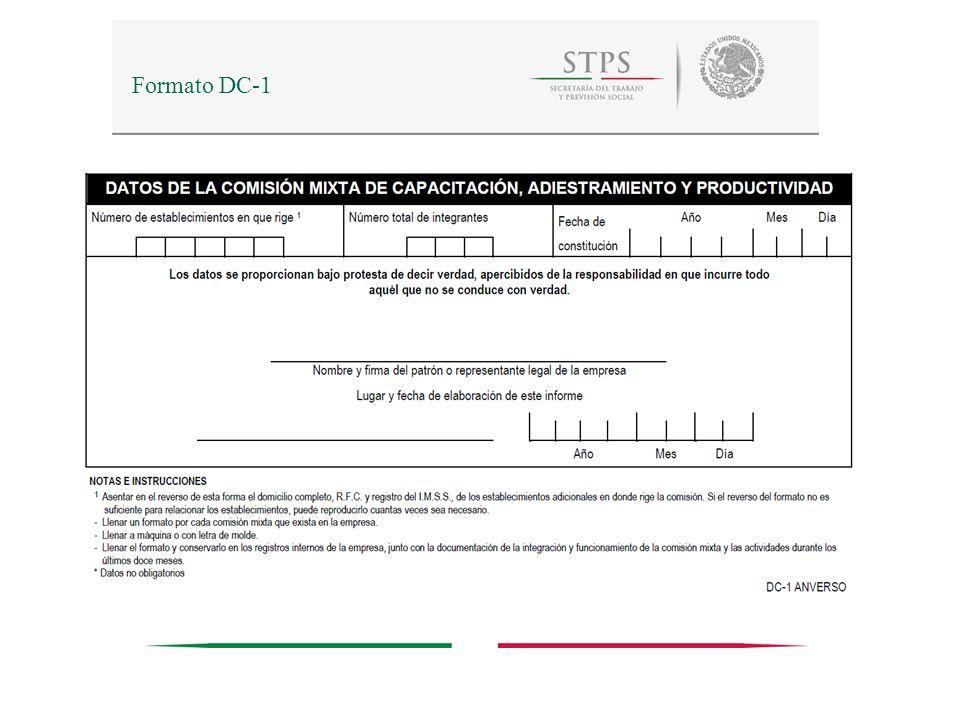 28 Listas de Constancias de Competencias o de Habilidades Laborales Queda a disposición de las empresas con antecedentes de registros ante la STPS, la aplicación informática para su presentación vía internet.