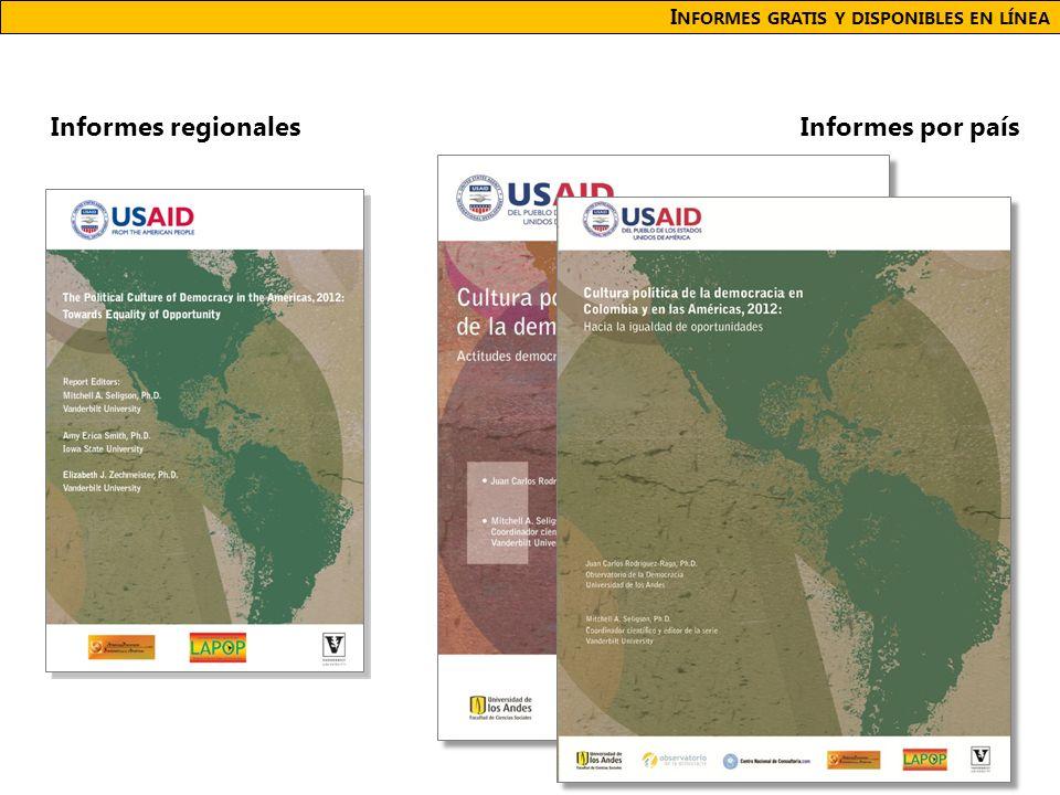I NFORMES GRATIS Y DISPONIBLES EN LÍNEA Informes por paísInformes regionales