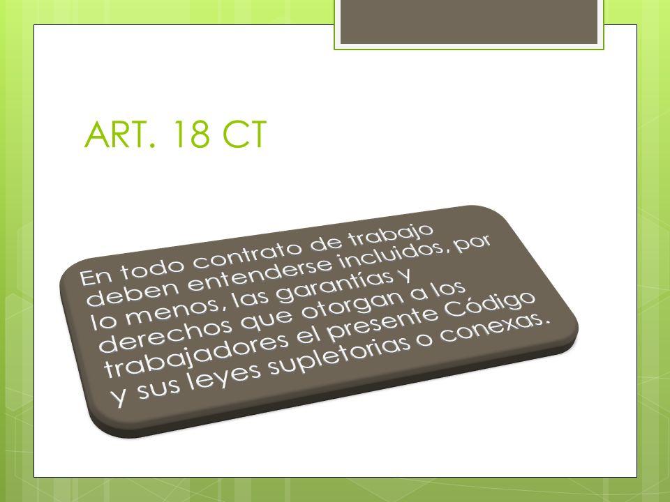 ART. 18 CT