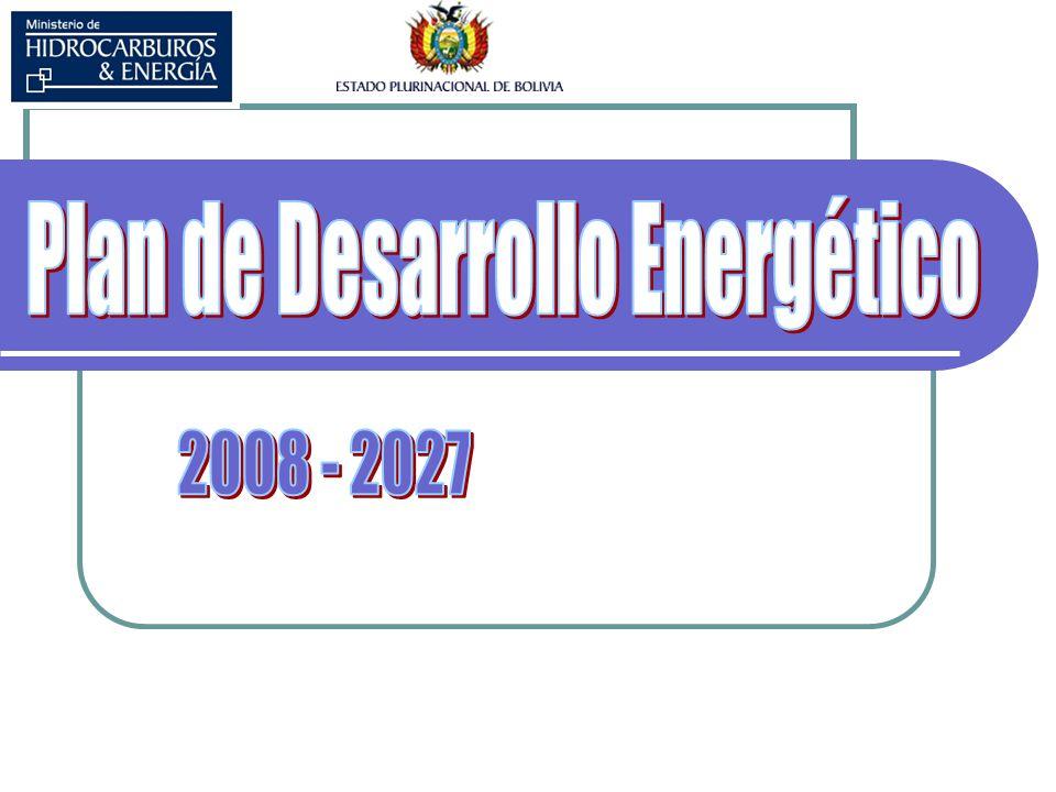 Energía y Desarrollo Sostenible Factor determinante de la calidad de vida de la población VIVIR BIEN Insumo imprescindible del aparato productivo PRODUCTIVIDAD Impacto s en el medio ambient e Grandes Inversiones