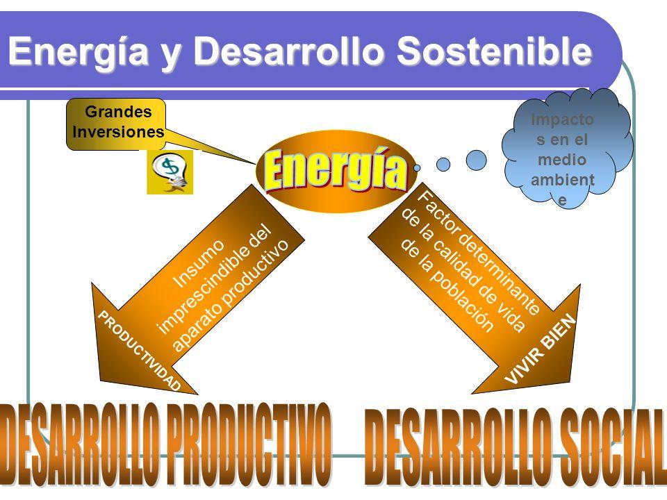 Matriz de consumo final 2007 72% Hidrocarburos