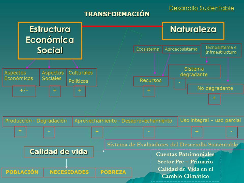 Desarrollo Sustentable Estructura Económica Social Naturaleza Aspectos Económicos Aspectos Sociales Culturales Políticos Ecosistema Agroecosistema Tec