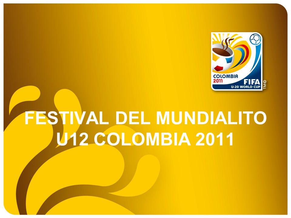 FESTIVAL DEL MUNDIALITO U12 COLOMBIA 2011