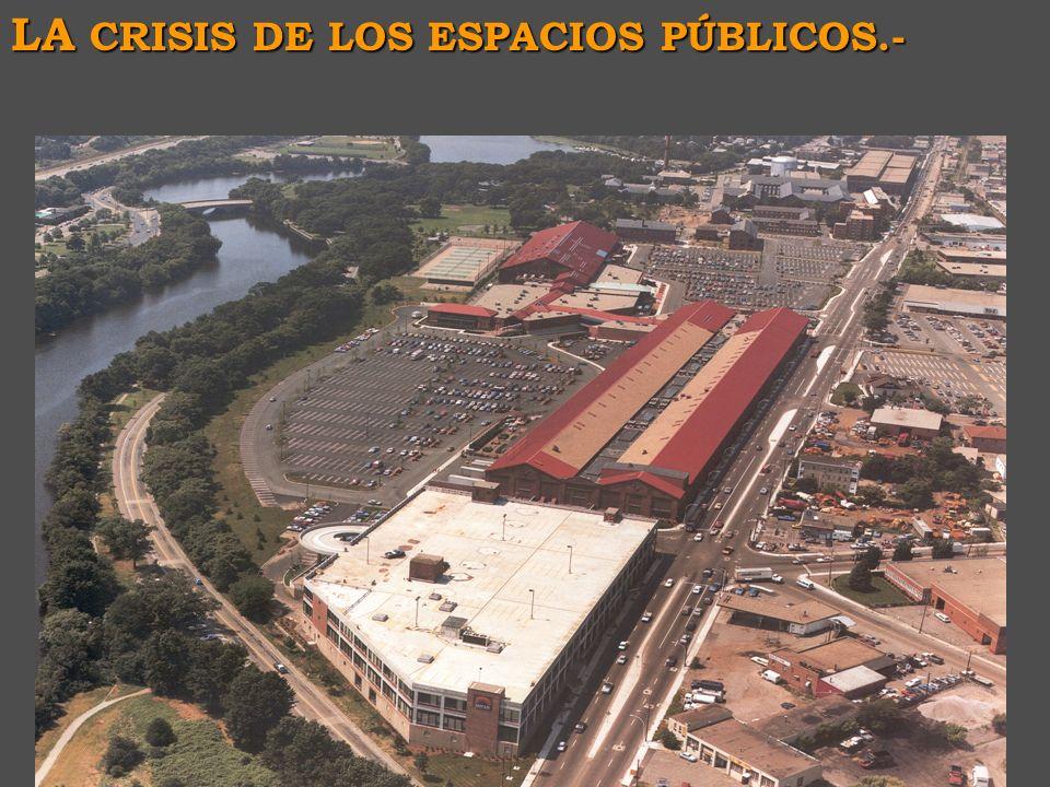 - la necesidad de recuperación del espacio público como elemento de articulación de las centralidades -J. Borja: Ciudadanía y espacio público. Barcelo