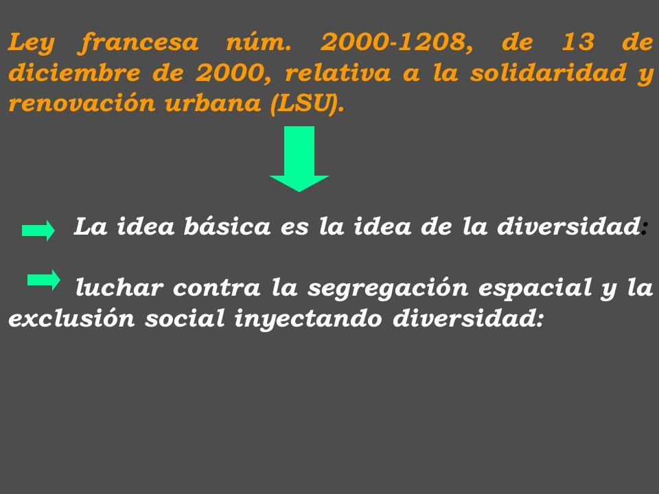 5. Urbanismo y la segregación social : J. Ponce nos habla el planeamiento como instrumento adecuado para crear sociedades integradas y multitécnicas: