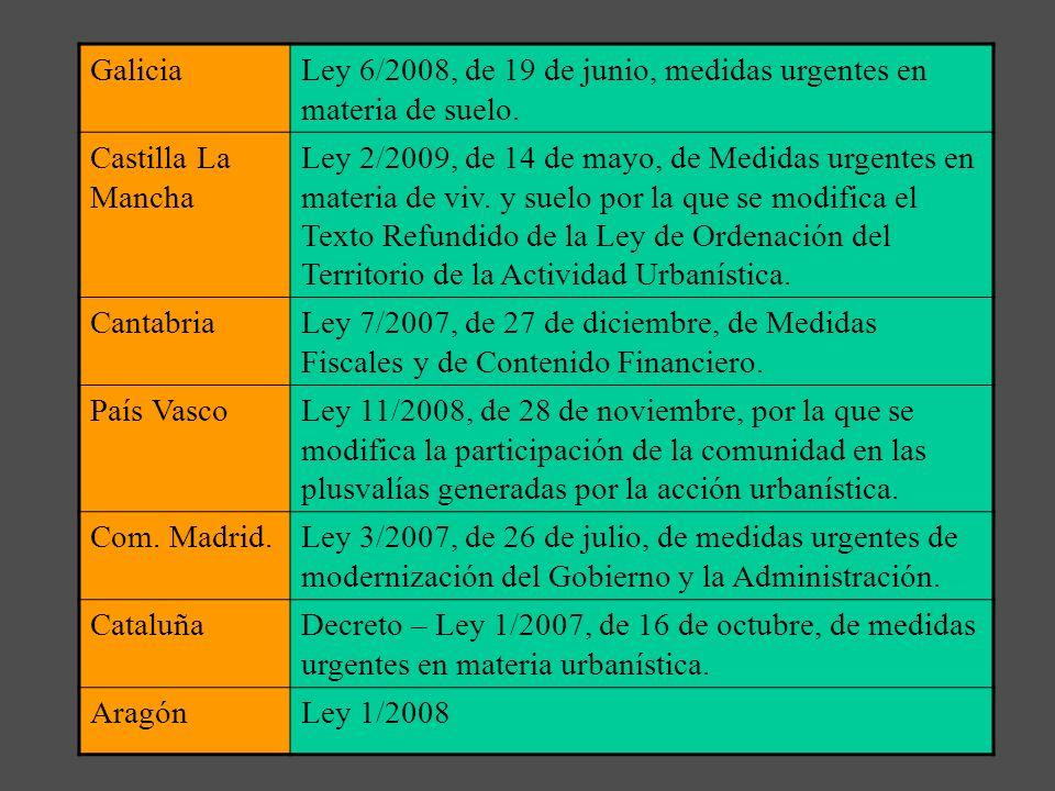 5ª Fase: la inclusión de la sostenibilidad en como factor del planeamiento urbanístico español. a)Ley 8/2007 criterios de sostenibilidad; las valoraci