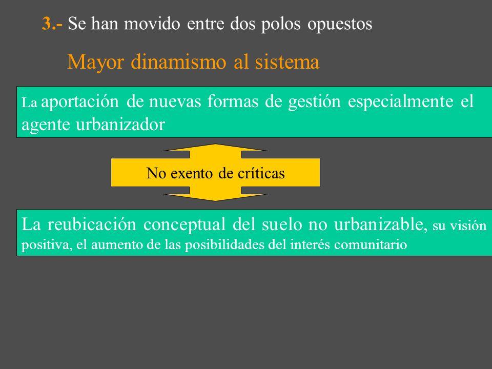 3.- Resumen aportaciones evolución urbanismo Mayores funciones del urbanismo conexión entre urbanismo y política de vivienda, entre urbanismo política