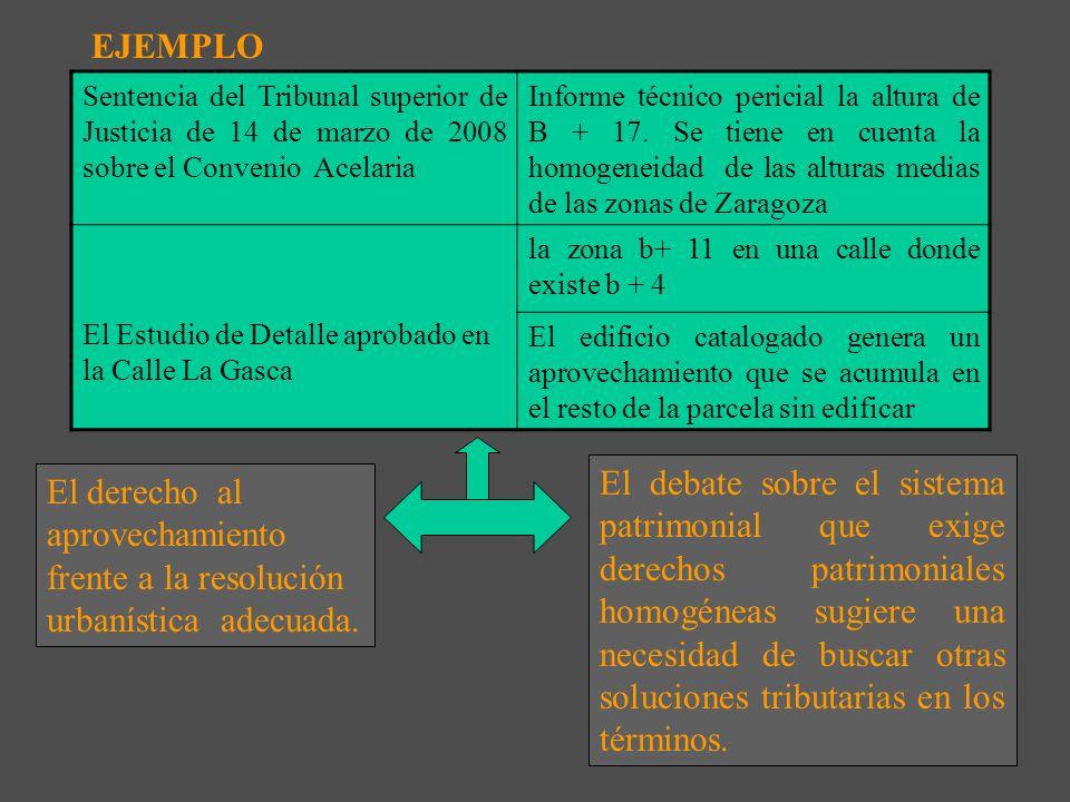 El debate incipiente entre régimen de cesiones y sistema tributario El derecho urbanístico basado en el sistema patrimonial homogéneo e igualitario ¿C