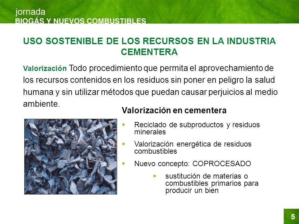 5 Valorización Todo procedimiento que permita el aprovechamiento de los recursos contenidos en los residuos sin poner en peligro la salud humana y sin