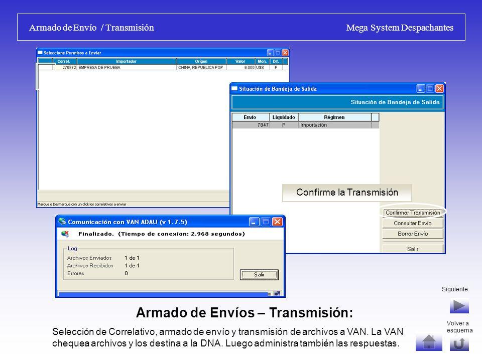 Numeración / Liquidación de DUA Mega System Despachantes Liquidación de DUA - Autoliquidación: Importes calculados por el Sistema, se deben controlar con los calculados por D.N.A.