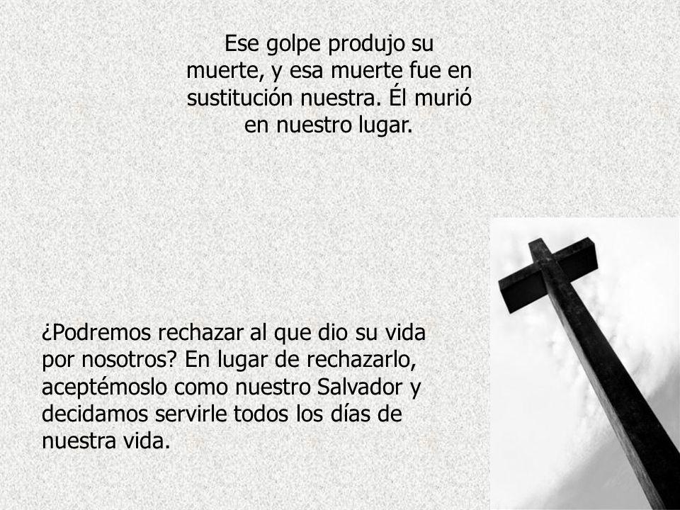 Distribuye: www.AvanzaPorMas.com Nosotros, la raza humana, escogimos el camino del pecado, y estamos condenados a la muerte eterna. Pero Jesús, el Cor