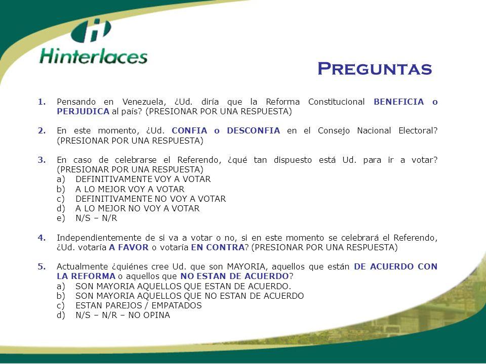 LA RECTA FINAL TRACKING TELEFONICO REFORMA CONSTITUCIONAL