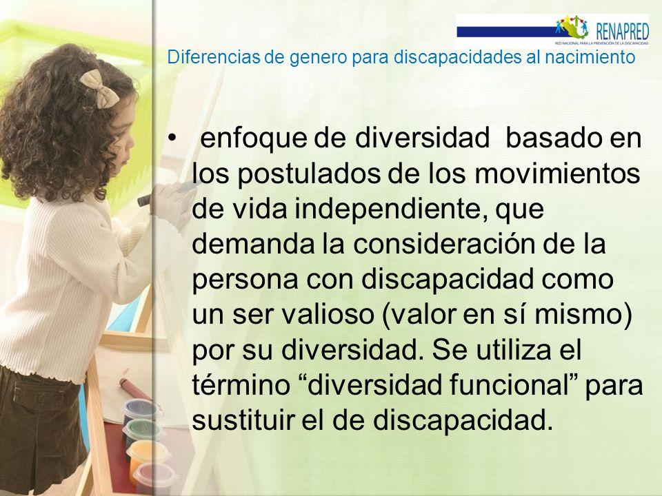 enfoque de diversidad basado en los postulados de los movimientos de vida independiente, que demanda la consideración de la persona con discapacidad c