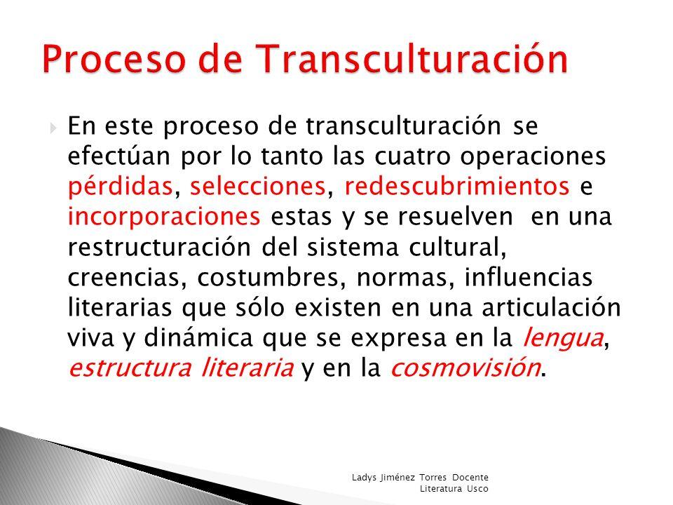 La cultura americana, al incorporar elementos europeos, los adopta, los transforma y los asimila, dando origen a una nueva realidad; esa es la idea qu