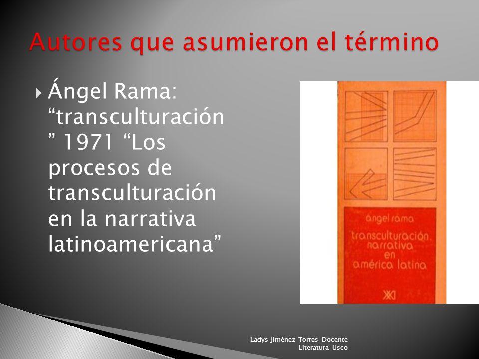 Mariano Picón Salas en De la conquista a la independencia. Capítulo cuarto se titulaba De lo europeo a lo mestizo. Las primeras formas de transcultura