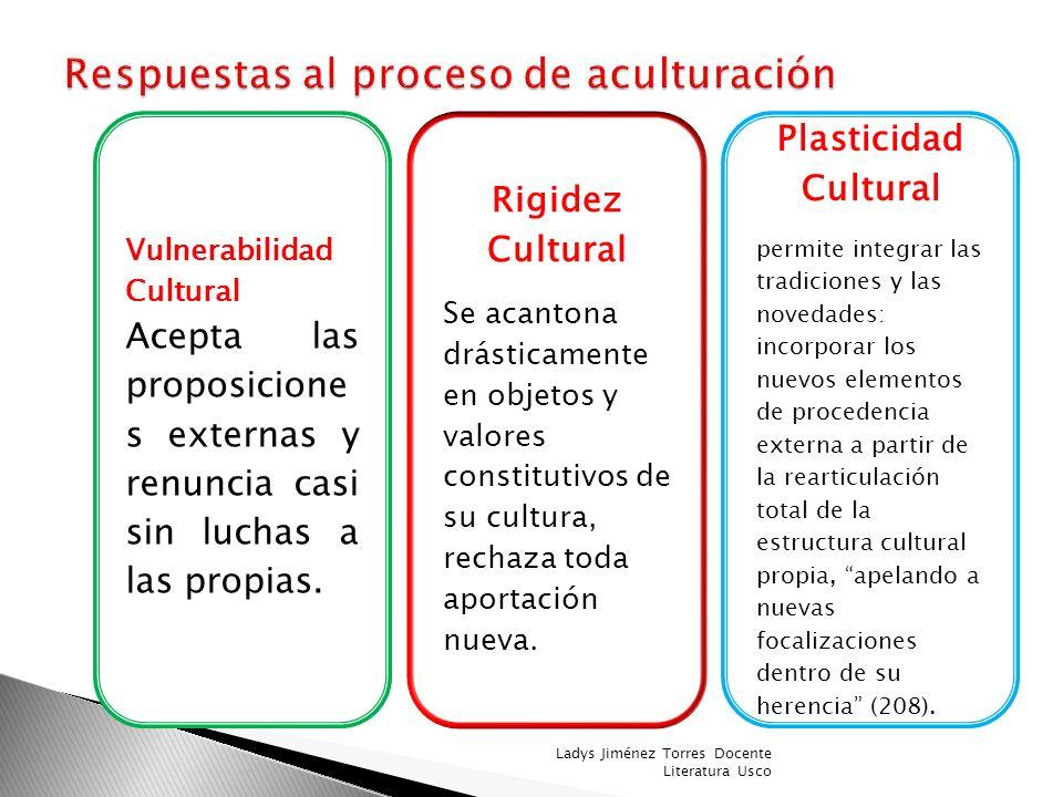 Ángel Rama: transculturación 1971 Los procesos de transculturación en la narrativa latinoamericana Ladys Jiménez Torres Docente Literatura Usco