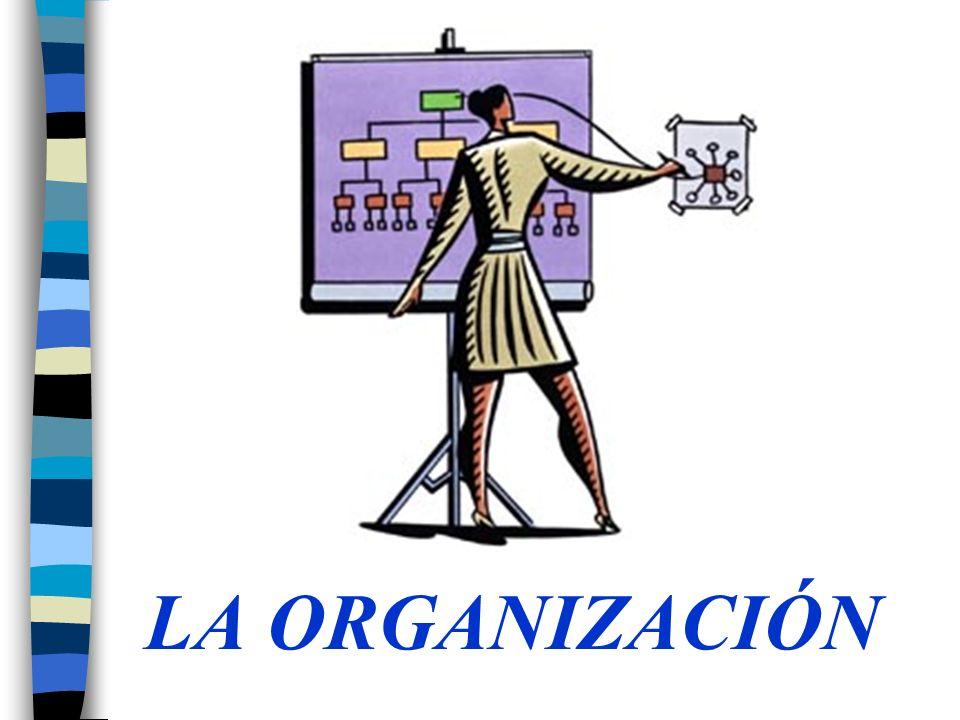 Teoría Organizacional El estudio de cómo funcionan las organizaciones, de cómo afectan y se ven afectadas por el ambiente en el que operan Sistema formal de tareas y relaciones de autoridad que controla la forma en que las personas cooperan y utilizan los recursos para lograr las metas de la organización.