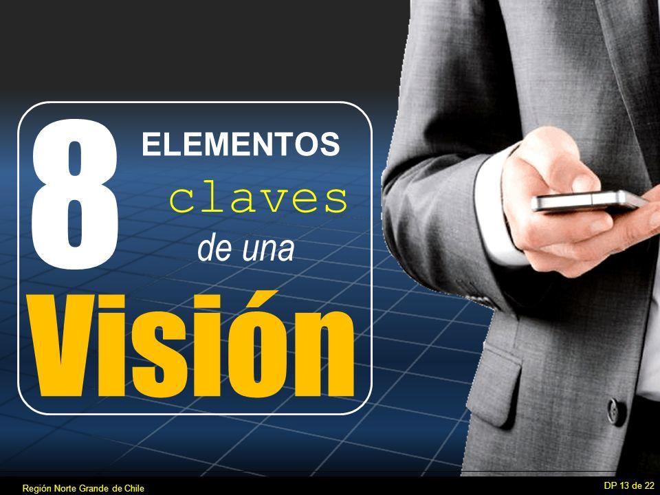 8 DP 13 de 22 de una Visión claves ELEMENTOS Región Norte Grande de Chile