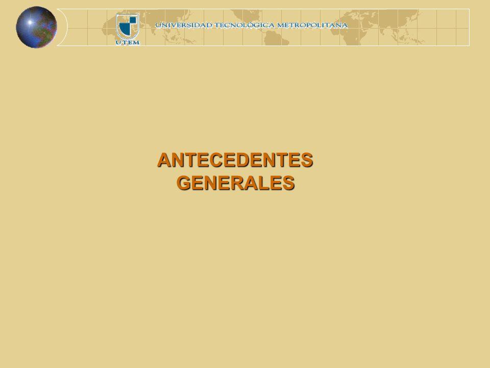 ANTECEDENTES GENERALES