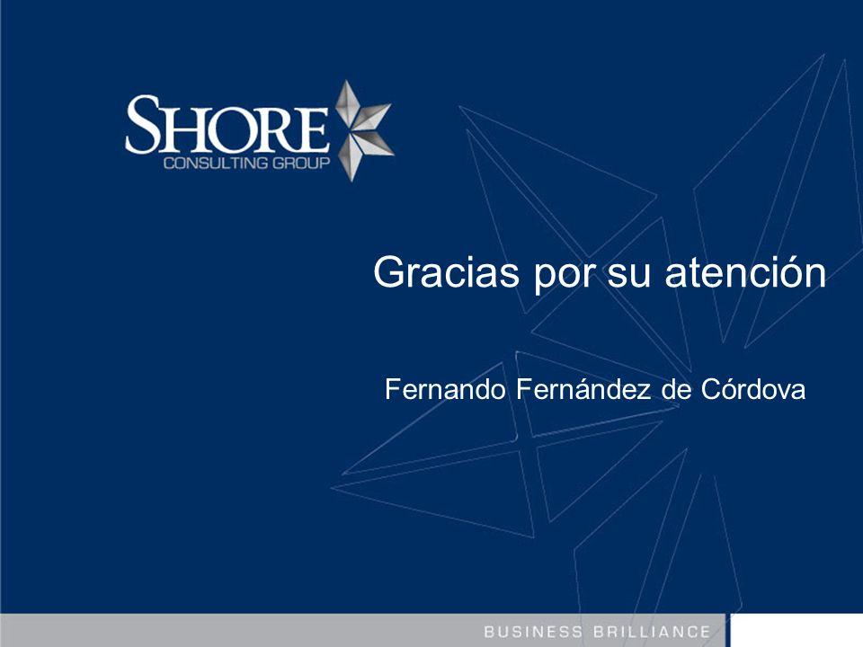 Gracias por su atención Fernando Fernández de Córdova