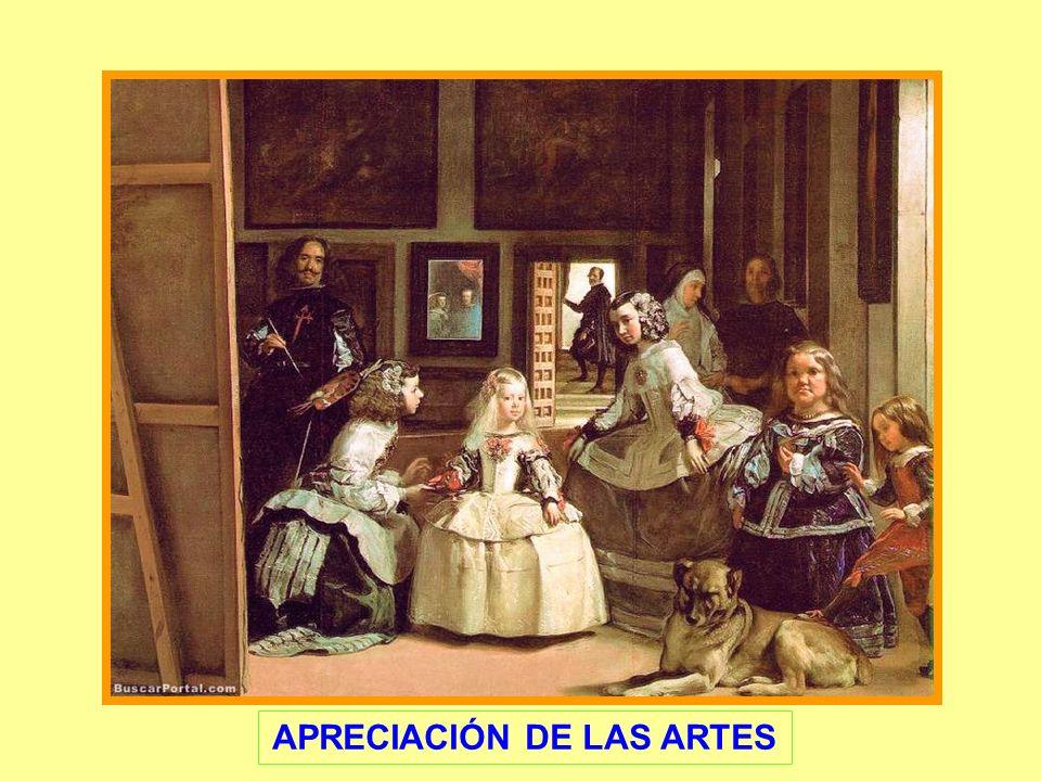 APRECIACIÓN DE LAS ARTES