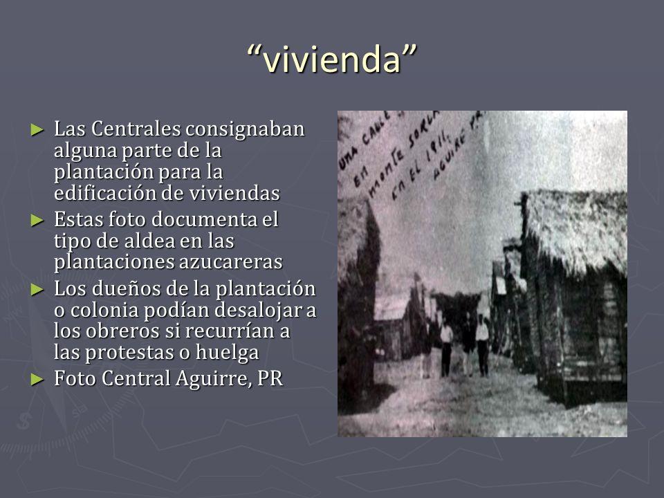vivienda Las Centrales consignaban alguna parte de la plantación para la edificación de viviendas Las Centrales consignaban alguna parte de la plantac