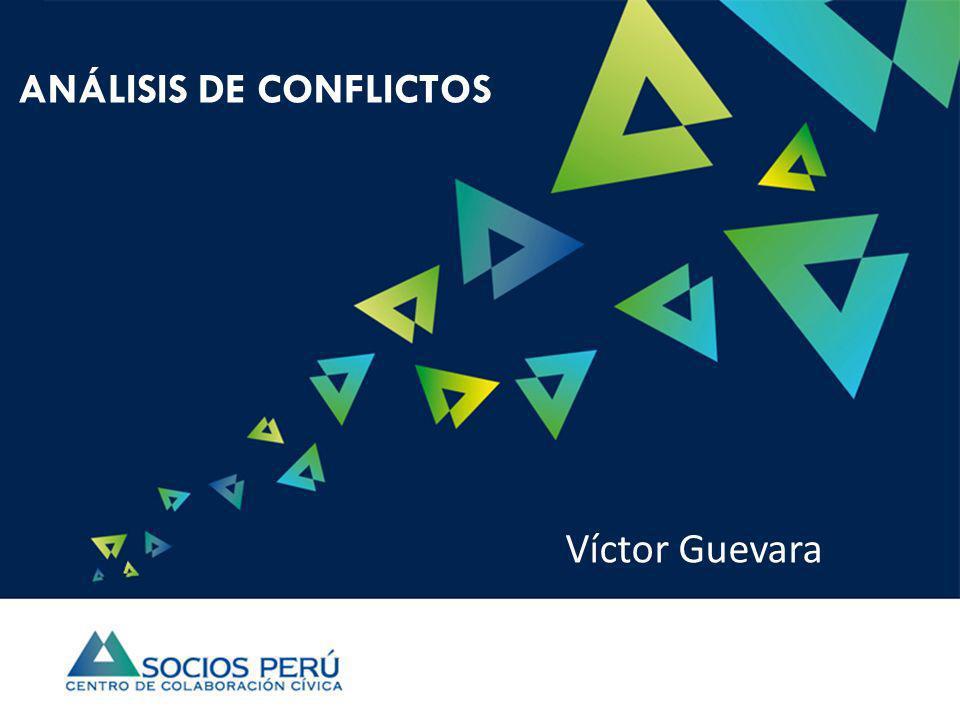 ANÁLISIS DE CONFLICTOS Víctor Guevara
