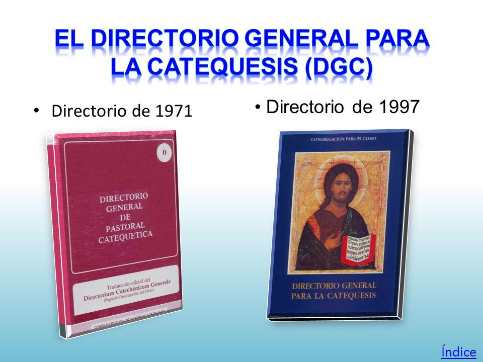 Directorio de 1971 Directorio de 1997 Índice