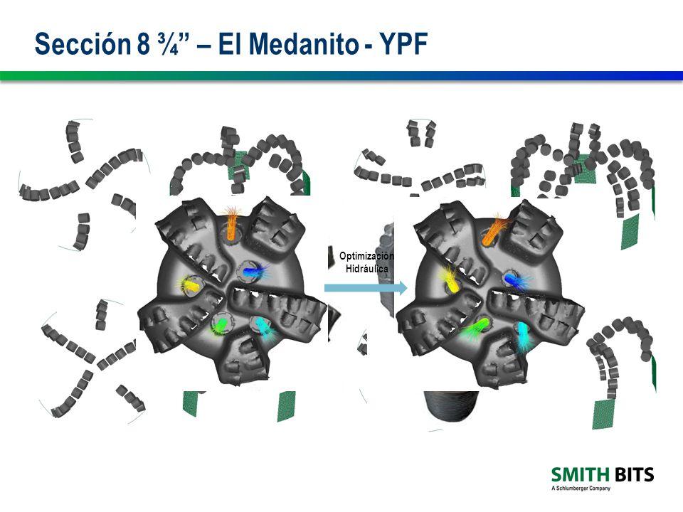 Sección 8 ¾ – El Medanito - YPF Optimización Hidráulica