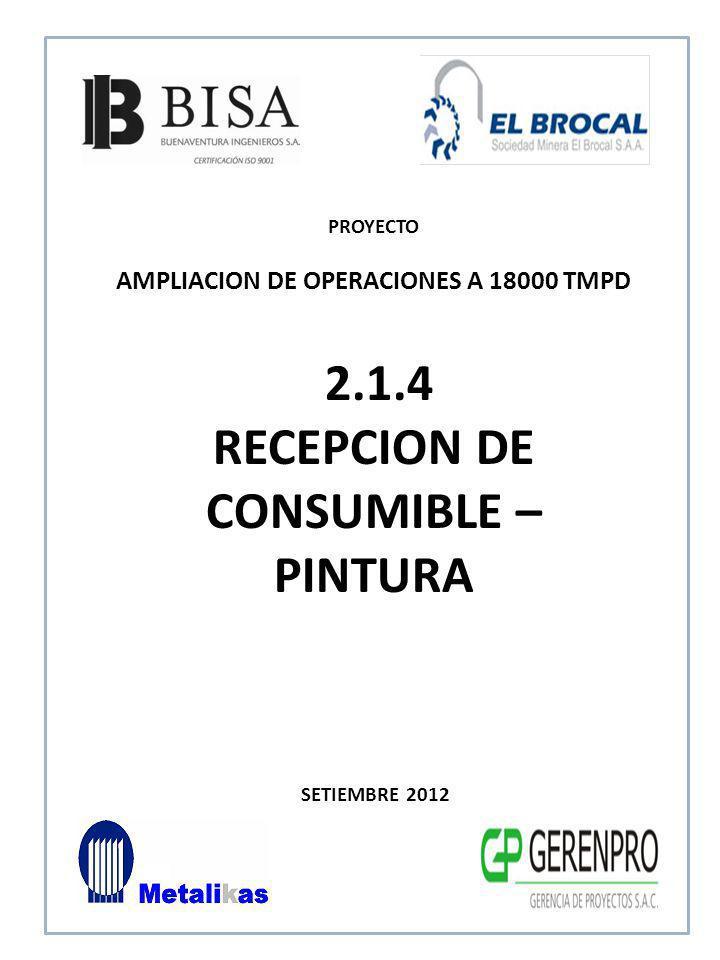 SETIEMBRE 2012 3.0 HABILITADO DE ELEMENTOS ESTRUCTURA METALICA PROYECTO AMPLIACION DE OPERACIONES A 18000 TMPD