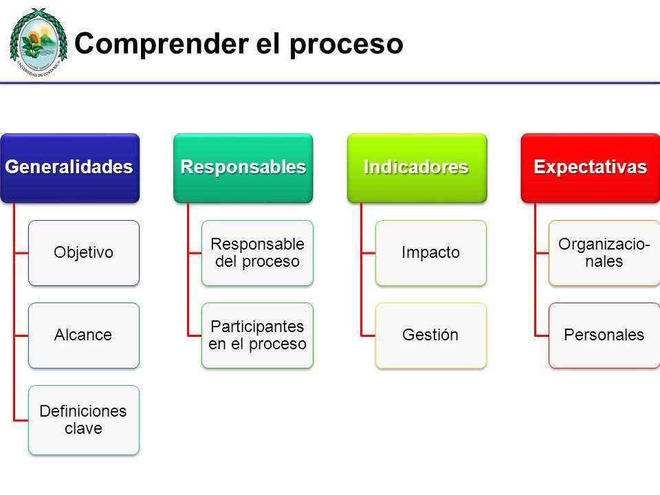 Comprender el proceso