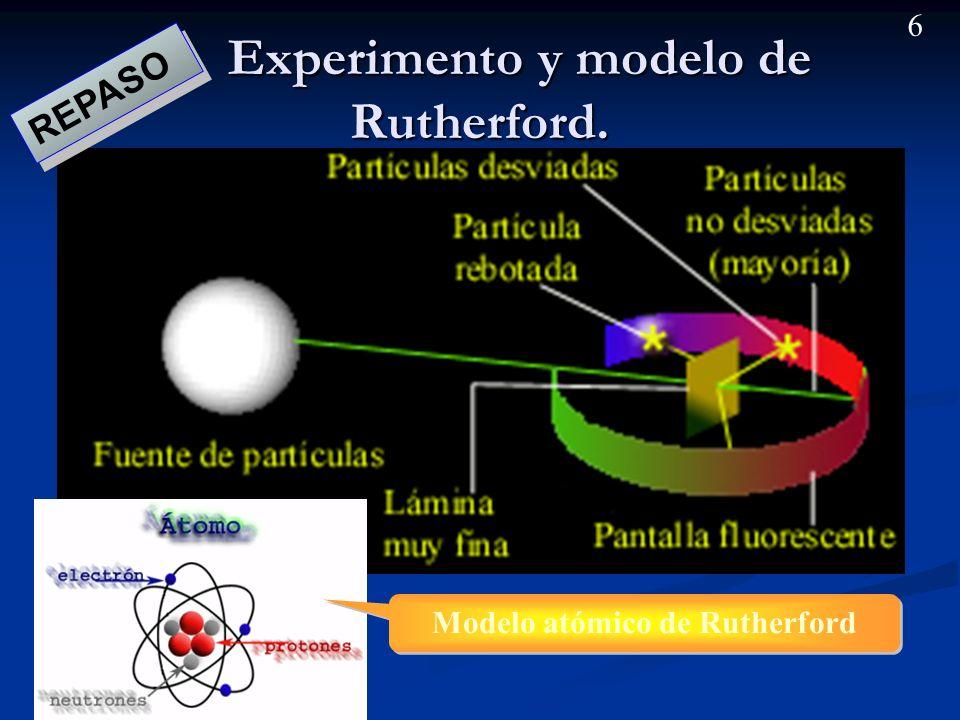 5 Rayos catódicos. Modelo de Thomson. Los rayos catódicos confirmaron la existencia de electrones en los átomos. Los rayos catódicos confirmaron la ex