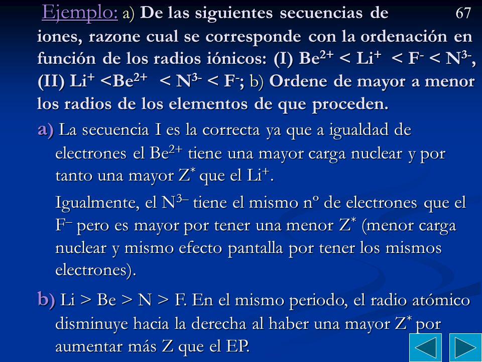 66 Comparación de radios atómicos e iónicos