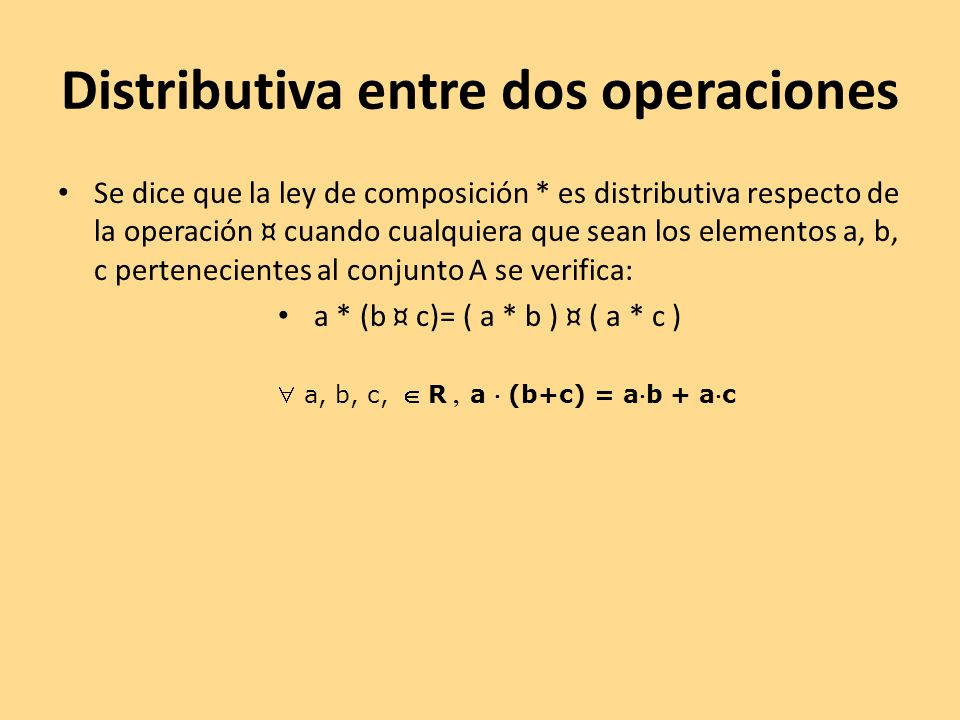 Estructuras Op.PropiedadEstructura Cerrada Asociativa E.