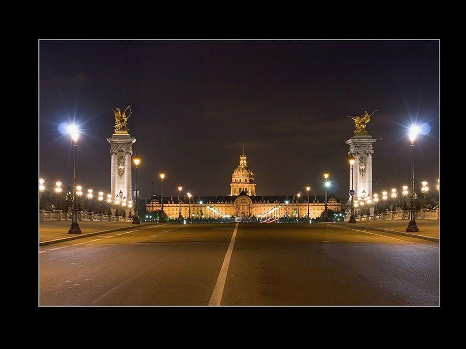 Los Inválidos vistos desde el puente de Alejandro III