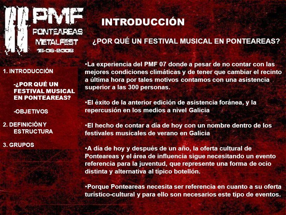 INTRODUCCIÓN ¿POR QUÉ UN FESTIVAL MUSICAL EN PONTEAREAS.