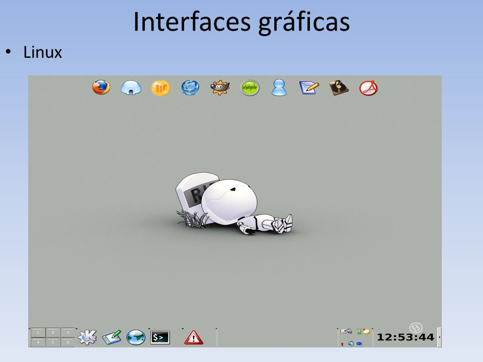 Interfaces gráficas Linux