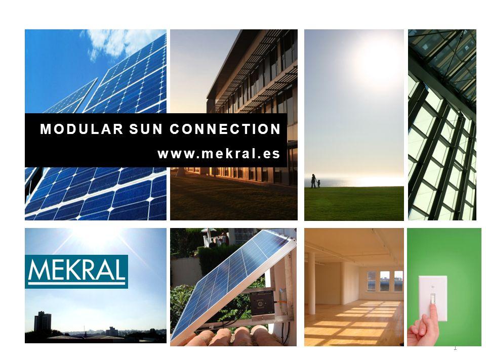 1. MODULAR SUN CONNECTION www.mekral.es