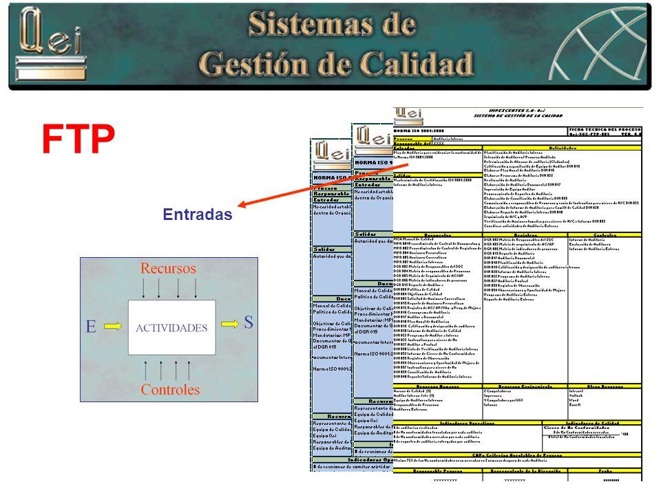 FTP Entradas