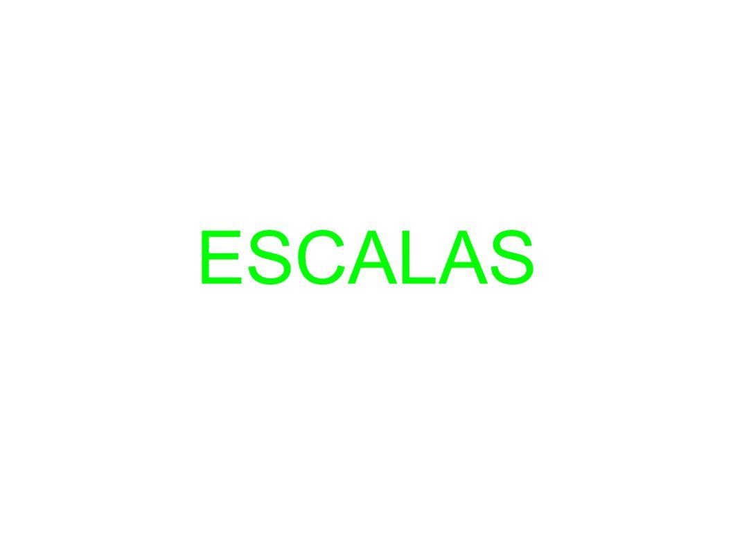 ESCALAS:SISTEMA DE ORDENACIÓN DE LAS NOTAS MUSICALES.