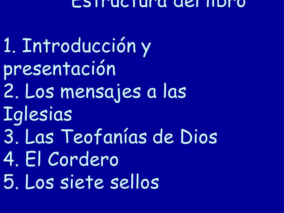 Estructura del libro 1.Introducción y presentación 2.